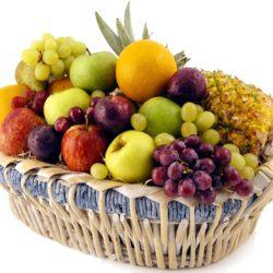 10 Kg Mixed Fresh Fruits Basket