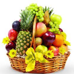 5 Kg Fresh Fruits Basket