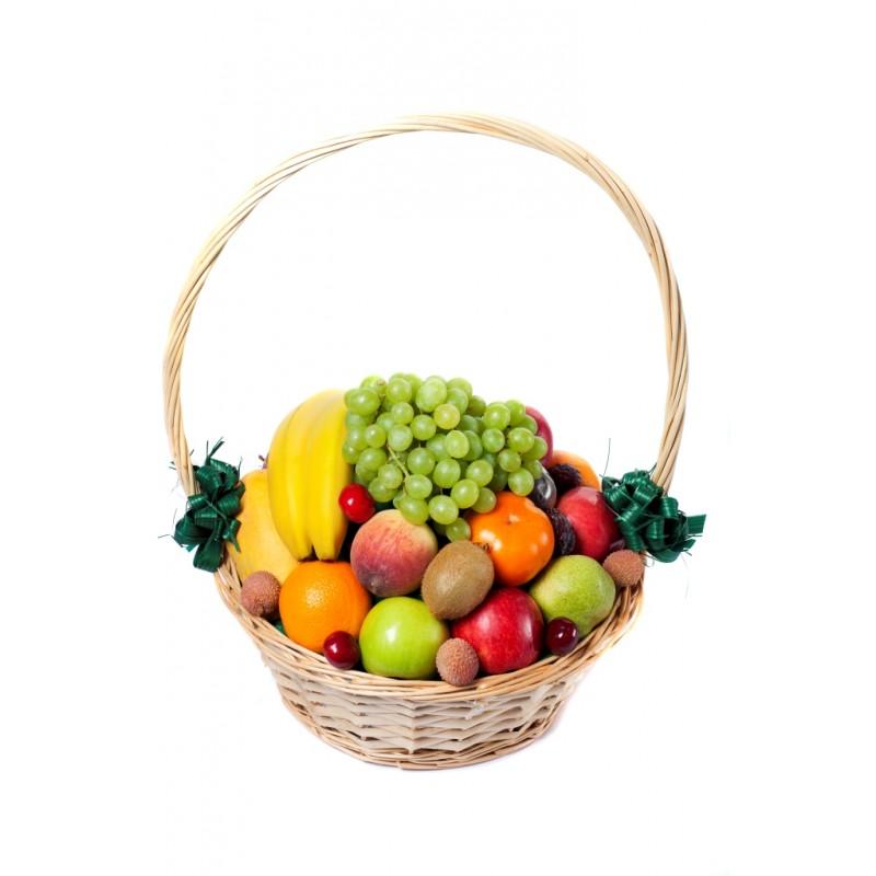 4 Kg Mix Fresh Fruits Basket Fresh Fruits Basket