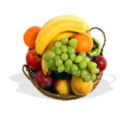 Mixed Fresh Fruits Basket