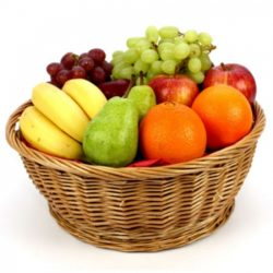2 Kg Seasonal Mixed Fresh Fruits Basket